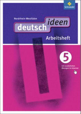 deutsch.ideen SI, Ausgabe Nordrhein-Westfalen (2012): 5. Schuljahr, Arbeitsheft