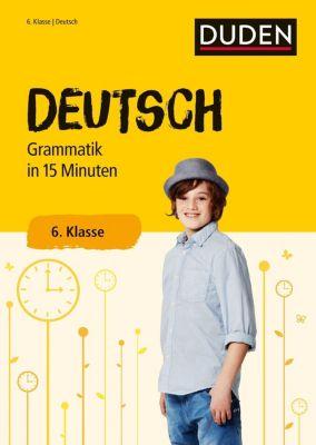 Deutsch in 15 Minuten - Grammatik 6. Klasse -  pdf epub