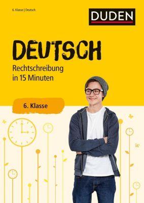 Deutsch in 15 Minuten - Rechtschreibung 6. Klasse -  pdf epub