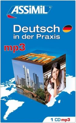 Deutsch in der Praxis für Franzosen - Perfectionnement Allemand: Lehrbuch, 1 mp3-CD