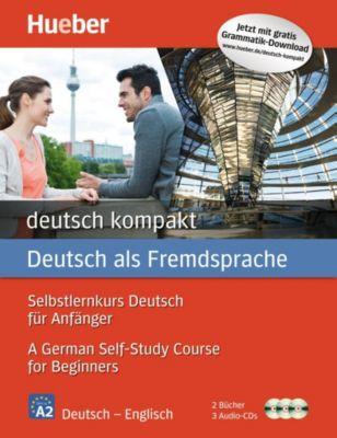 deutsch kompakt, Neuausgabe: Englische Ausgabe: 2 Bücher + 3 Audio-CDs, Renate Luscher