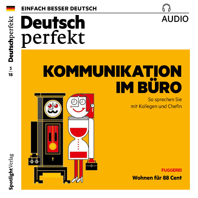 deutsch perfekt audio deutsch lernen audio kommunikation im buro horbuch download
