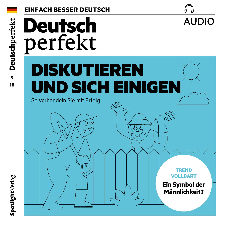 deutsch perfekt audio deutsch lernen audio diskutieren und sich einigen horbuch download