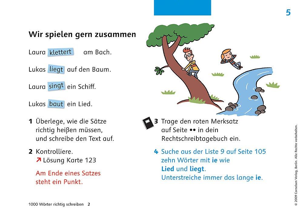 Deutsch Plus 1000 Wörter Richtig Schreiben Ausgabe Grundschule 2