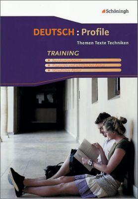 Deutsch: Profile, Neubearbeitung: Training