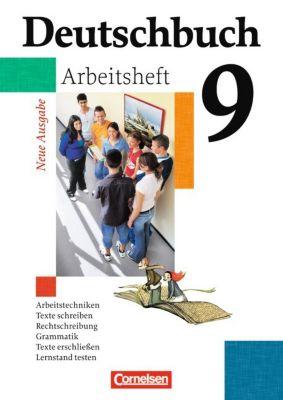 Deutschbuch, Gymnasium Allgemeine Ausgabe, Neue Ausgabe: 9. Schuljahr, Arbeitsheft
