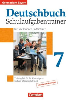 deutschbuch gymnasium bayern 7 jahrgangsstufe schulaufgabentrainer f r sch lerinnen und. Black Bedroom Furniture Sets. Home Design Ideas