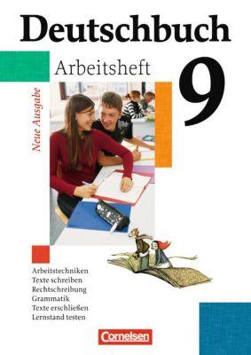 Deutschbuch, Gymnasium (G8) Hessen u. Nordrhein-Westfalen, Neue Ausgabe: 9. Schuljahr, Arbeitsheft mit Lösungen