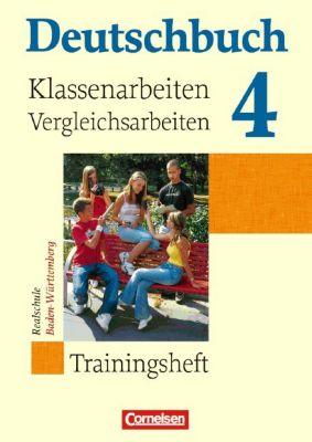 Deutschbuch, Realschule Baden-Württemberg: Bd.4 8. Schuljahr, Trainingsheft für Klassenarbeiten und Vergleichsarbeiten
