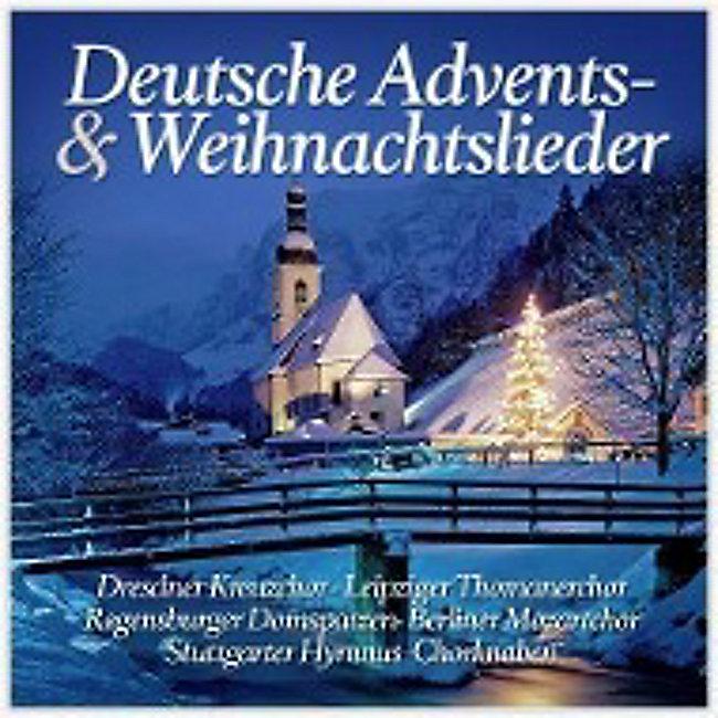 Weihnachtslieder Modern Deutsch.Deutsche Advents Weihnachtslieder Cd Von Various Weltbild De
