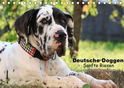 Deutsche Doggen - Sanfte Riesen (Tischkalender 2019 DIN A5 quer), Marion Reiß - Seibert