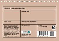 Deutsche Doggen - Sanfte Riesen (Tischkalender 2019 DIN A5 quer) - Produktdetailbild 13