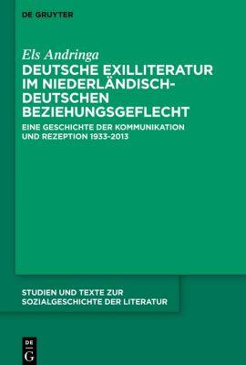 Deutsche Exilliteratur im niederländisch-deutschen Beziehungsgeflecht, Els Andringa