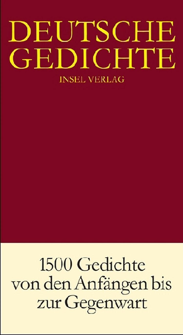 Deutsche Gedichte Buch Jetzt Versandkostenfrei Bei Weltbild