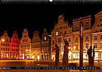 Deutsche Hansestädte - Lübeck Wismar Rostock Stralsund (Wandkalender 2019 DIN A2 quer) - Produktdetailbild 2