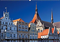 Deutsche Hansestädte - Lübeck Wismar Rostock Stralsund (Wandkalender 2019 DIN A2 quer) - Produktdetailbild 3