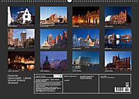 Deutsche Hansestädte - Lübeck Wismar Rostock Stralsund (Wandkalender 2019 DIN A2 quer) - Produktdetailbild 7
