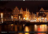 Deutsche Hansestädte - Lübeck Wismar Rostock Stralsund (Wandkalender 2019 DIN A2 quer) - Produktdetailbild 9