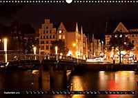 Deutsche Hansestädte - Lübeck Wismar Rostock Stralsund (Wandkalender 2019 DIN A3 quer) - Produktdetailbild 9