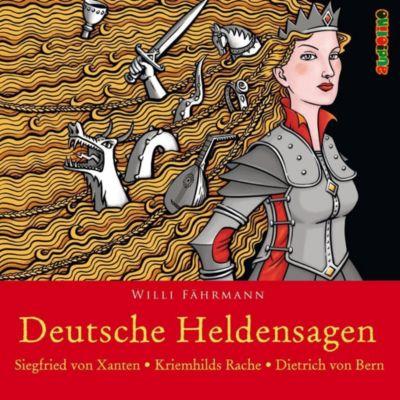 Deutsche Heldensagen, 2 Audio-CDs - Willi Fährmann |