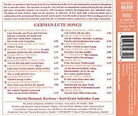 Deutsche Lautenlieder - Produktdetailbild 1