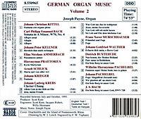 Deutsche Orgelmusik Vol. 2 - Produktdetailbild 1
