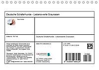 Deutsche Schäferhunde - Liebenswerte Graunasen (Tischkalender 2019 DIN A5 quer) - Produktdetailbild 13