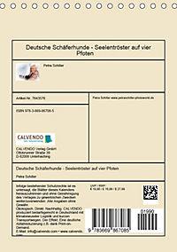 Deutsche Schäferhunde - Seelentröster auf vier Pfoten (Tischkalender 2019 DIN A5 hoch) - Produktdetailbild 13