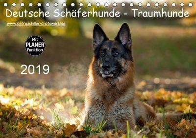 Deutsche Schäferhunde - Traumhunde (Tischkalender 2019 DIN A5 quer), Petra Schiller