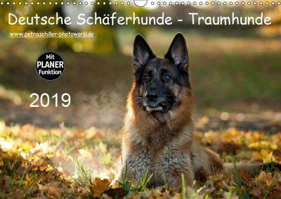 Deutsche Schäferhunde - Traumhunde (Wandkalender 2019 DIN A3 quer), Petra Schiller