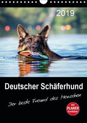 Deutscher Schäferhund - Der beste Freund des Menschen (Wandkalender 2019 DIN A4 hoch), Petra Schiller
