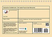 Deutscher Schäferhund - Der beste Freund des Menschen (Tischkalender 2019 DIN A5 quer) - Produktdetailbild 13