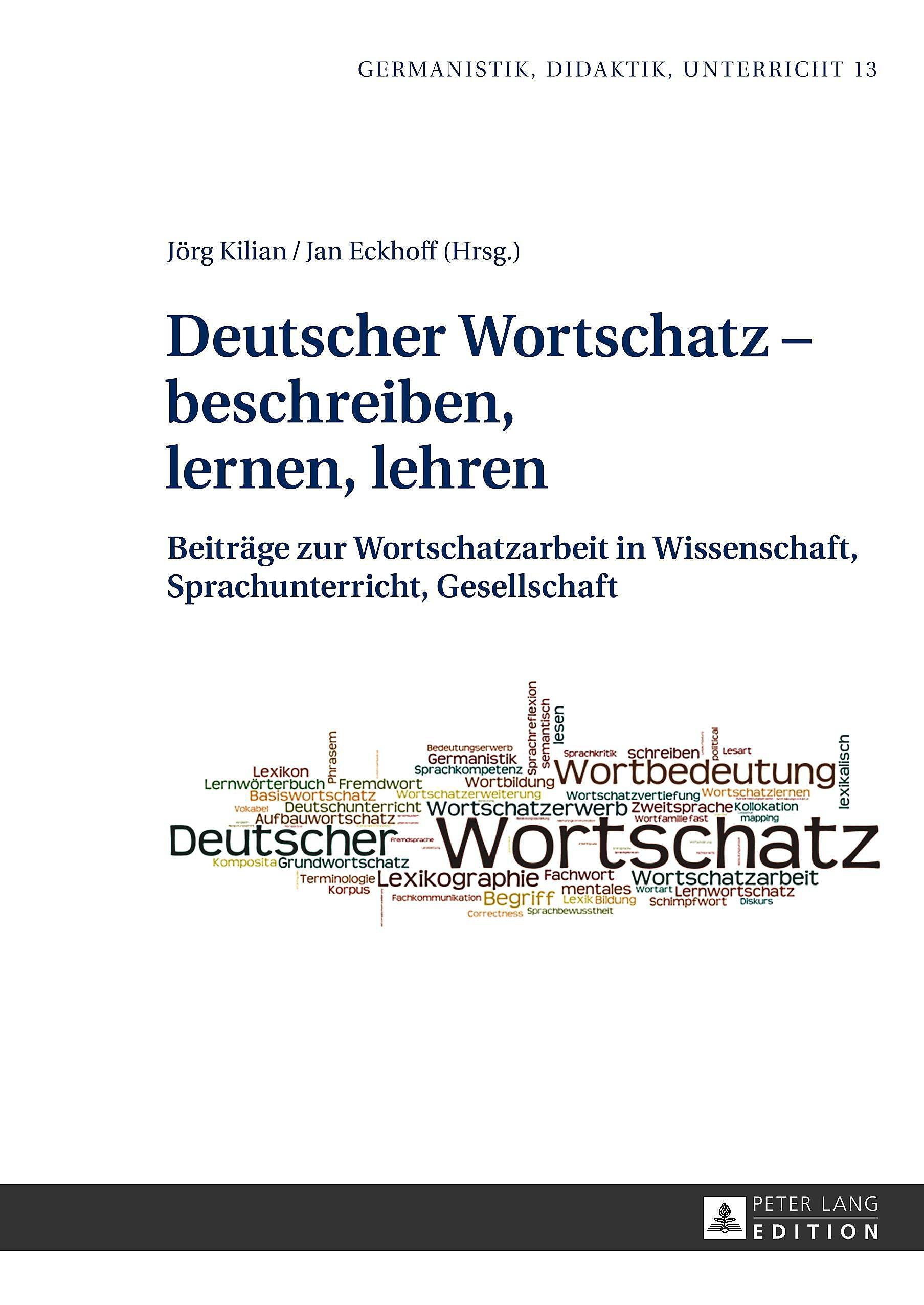 Deutscher Wortschatz - beschreiben, lernen, lehren Buch ...