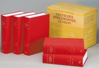 Deutsches Sprichwörter-Lexikon, 5 Bde. m. CD-ROM, Karl Fr. W. Wander