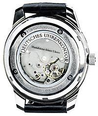 Deutsches Uhrenkontor Automatik-Armbanduhr Mod. 1966 (Farbe: schwarz) - Produktdetailbild 2