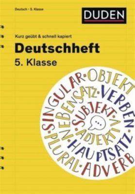 Deutschheft 5. Klasse