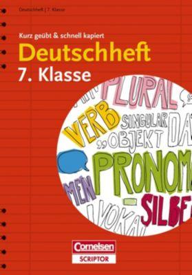 Deutschheft 7. Klasse - Gerd Brenner |