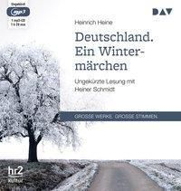 Deutschland. Ein Wintermärchen, 1 MP3-CD, Heinrich Heine
