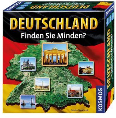 Deutschland - Finden Sie Minden? (Spiel), Günter Burkhardt