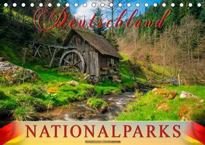 Deutschland - Nationalparks (Tischkalender 2019 DIN A5 quer), Peter Roder