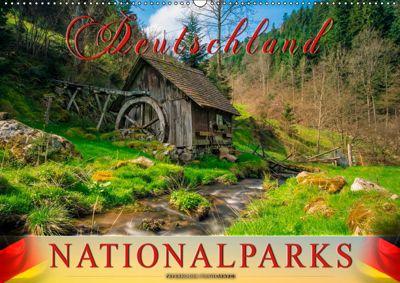 Deutschland - Nationalparks (Wandkalender 2019 DIN A2 quer), Peter Roder