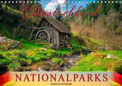 Deutschland - Nationalparks (Wandkalender 2019 DIN A4 quer), Peter Roder