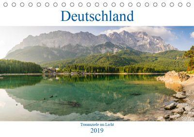 Deutschland - Traumziele im LichtAT-Version (Tischkalender 2019 DIN A5 quer), Martin Wasilewski