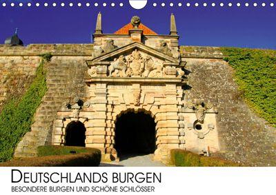 Deutschlands Burgen - besondere Burgen und schöne Schlösser (Wandkalender 2019 DIN A4 quer), Darius Lenz