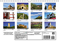 Deutschlands Burgen - besondere Burgen und schöne Schlösser (Wandkalender 2019 DIN A4 quer) - Produktdetailbild 13