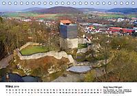 Deutschlands Burgen - Der Süden von oben (Tischkalender 2019 DIN A5 quer) - Produktdetailbild 3