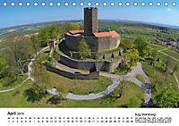 Deutschlands Burgen - Der Süden von oben (Tischkalender 2019 DIN A5 quer) - Produktdetailbild 4