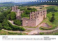 Deutschlands Burgen - Der Süden von oben (Tischkalender 2019 DIN A5 quer) - Produktdetailbild 6