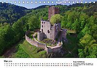 Deutschlands Burgen - Der Süden von oben (Tischkalender 2019 DIN A5 quer) - Produktdetailbild 5