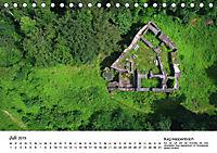 Deutschlands Burgen - Der Süden von oben (Tischkalender 2019 DIN A5 quer) - Produktdetailbild 7